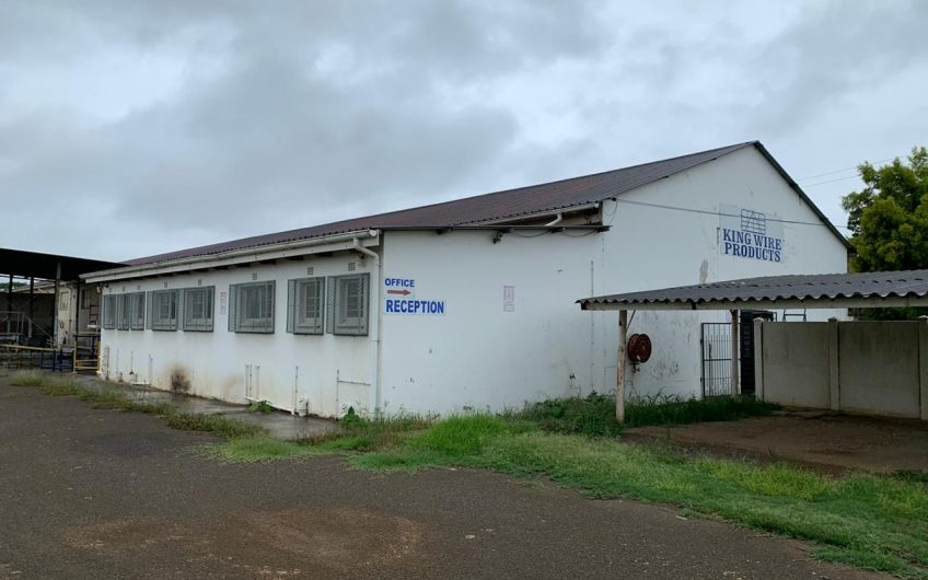 INDUSTRIAL WAREHOUSE || on Auction in King Williams Town!